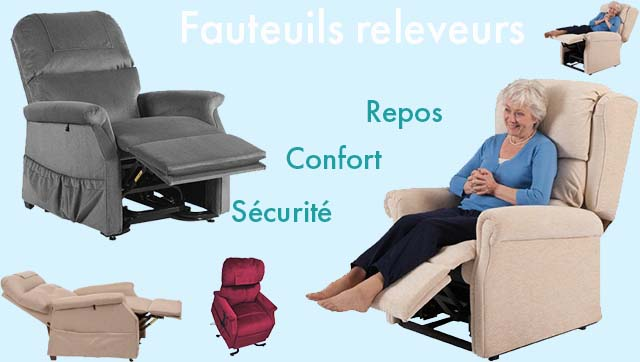 Fauteuil releveur - fauteuil confort - fauteuil coquille