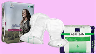Couches adultes - Protections anatomiques - Abena - Tena - Id Ontex - Hartmann - Molicare - Abrisan