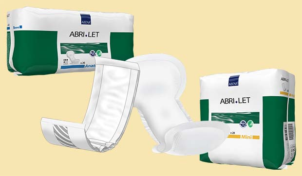 Couches adulte - Protections droites - Incontinence